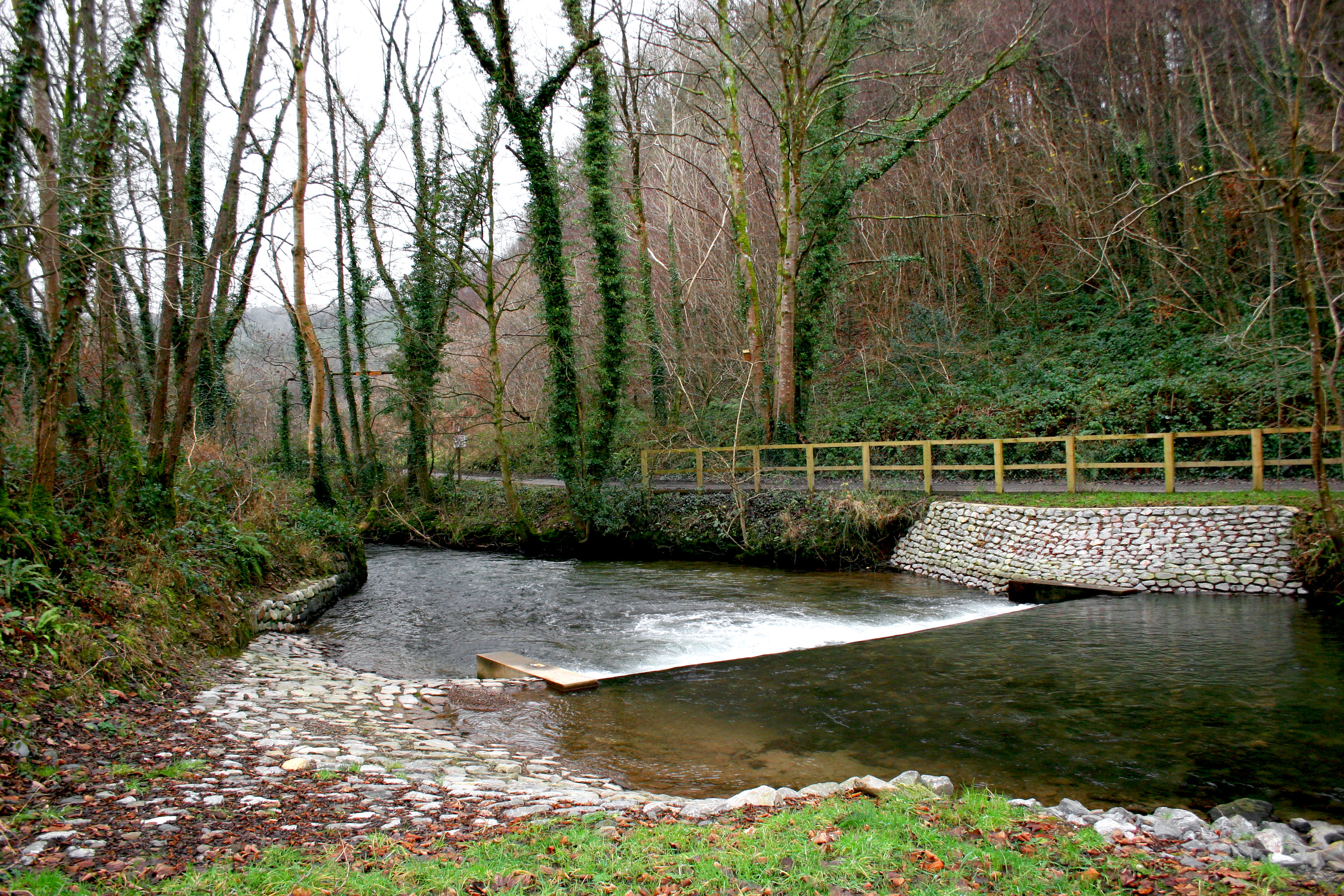 Collard Bridge weir