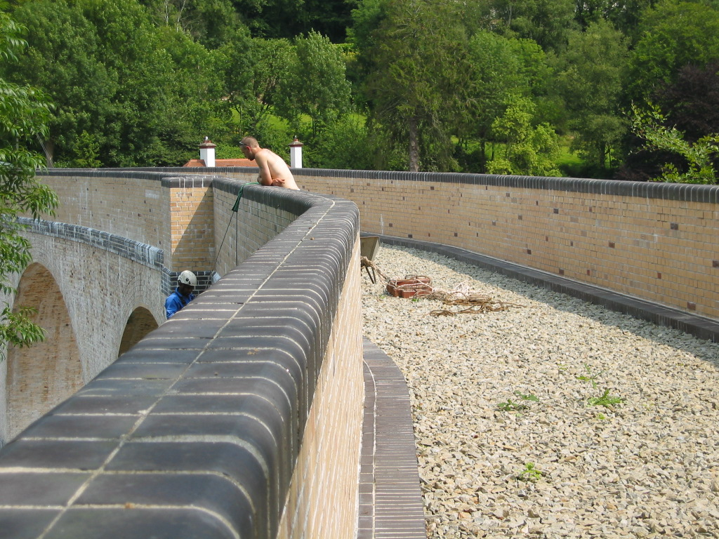 Chelfham Viaduct inspection
